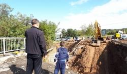 Ražanj i četiri sela ostali bez puta zbog rekonstrukcije mosta (FOTO)
