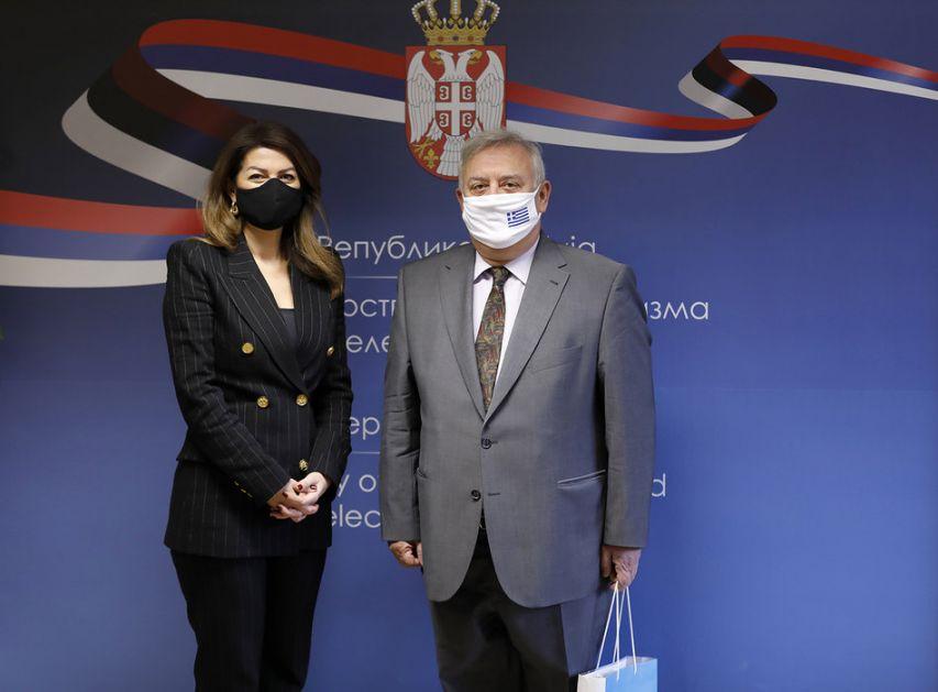 Razvoj saradnje Srbije i Grčke i rešavanje problema u turizmu izazvanih pandemijom