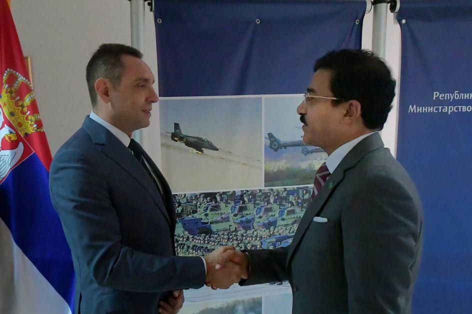 Razvoj saradnje sa Saudijskom Arabijom u oblasti odbrane