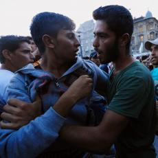 Reagovala policija: Sukob desničara i aktivista levice zbog migranata