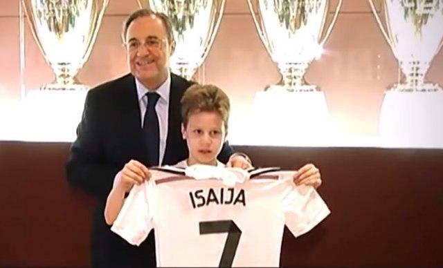 Real Madrid se oprostio od Isaije Pantića