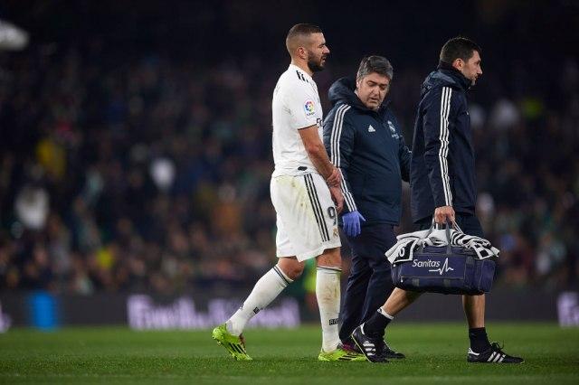 Real bez pola tima  Benzema novi na listi povređenih