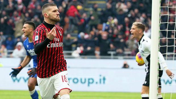 Rebić ponovo spasio Milan