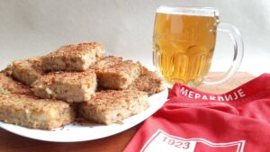 Recept: Pita od starog hleba sa mesom i pivom