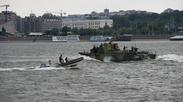 Rečna flotila VS kod Ušća uspešno eliminisala teroriste