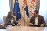 Žužana Hargitai danas u oproštajnoj poseti kod Vučića FOTO