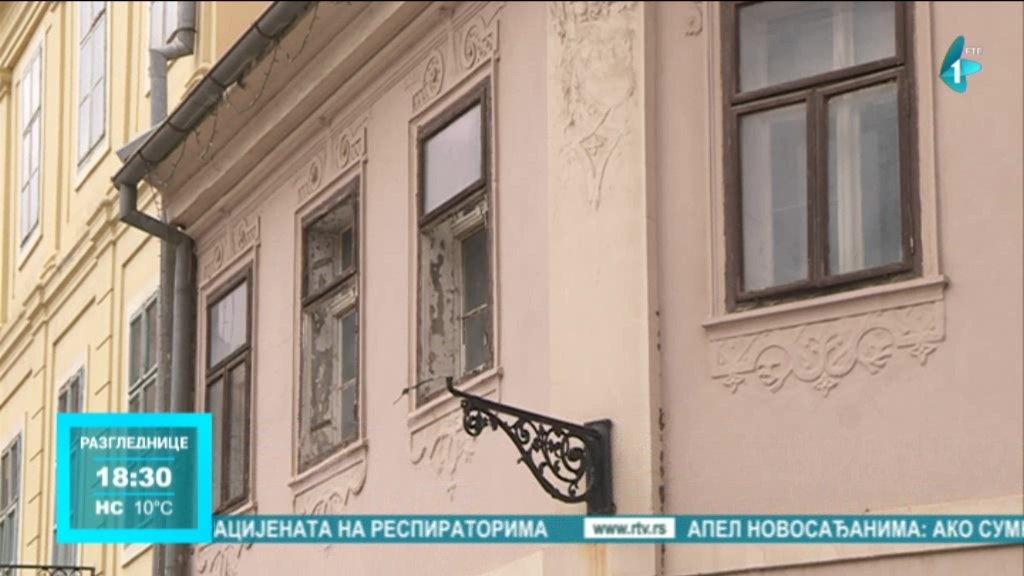 Rekonstrukcija baroknih fasada u Sremskim Karlovcima