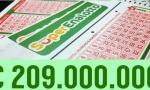 Rekordni dobitak na lotou vredan 209 miliona evra