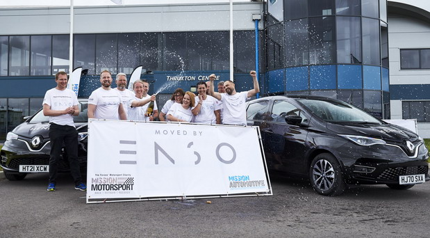 Renault Zoe sa Enso EV gumama prešao 765 km