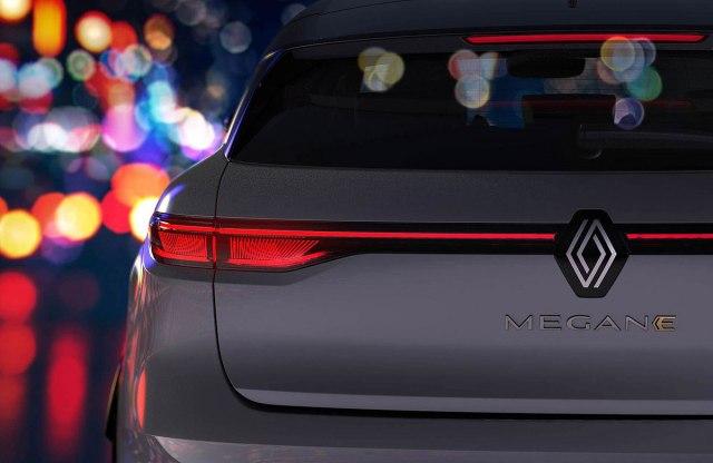 Renault najavljuje električni Megane FOTO
