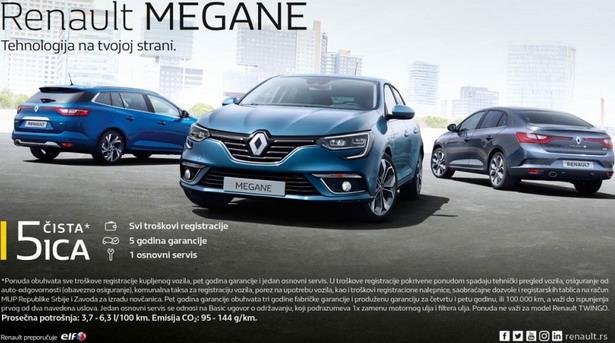 Renault ponuda Čista petica