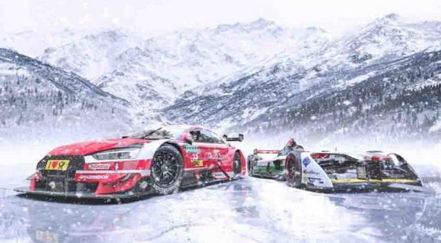 Rene Rast u Audiju RS 5 DTM izlazi na ledenu pistu: To je apsolutni izazov za svakog trkača