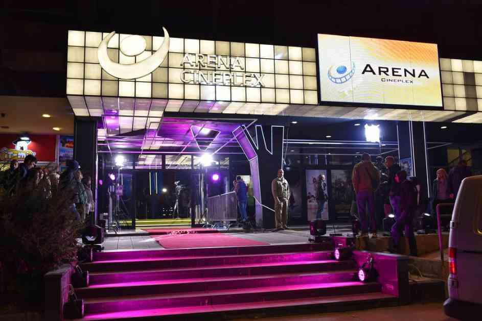 Repertoar Arene Cineplex za 30. avgust
