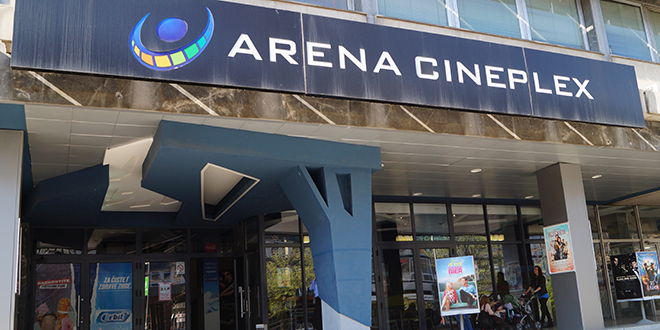Repertoar bioskopa Arena Cineplex do 10.decembra