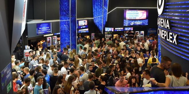 Repertoar bioskopa Arena Cineplex za naredni period
