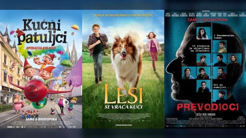"""Repertoar bioskopa """"Zvezda"""" od 22. do 28. oktobra"""