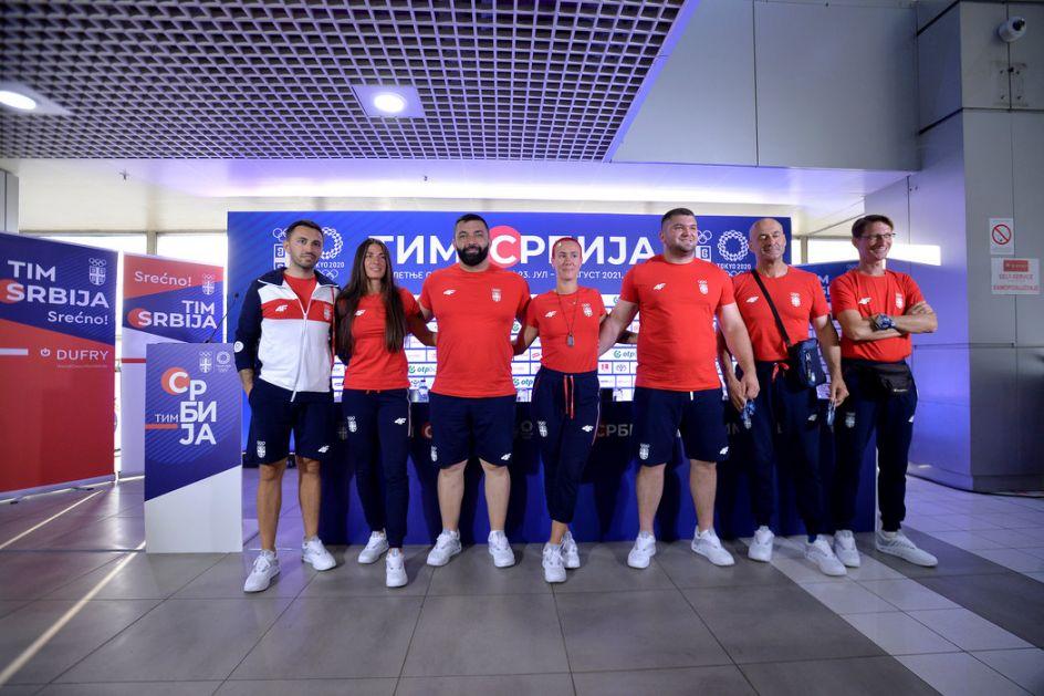 Reprezentativci Srbije u atletici i kajaku otputovali na OI (AUDIO)