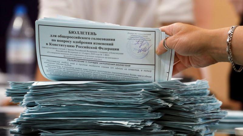 Rezultati ruskog referenduma u korist ustavnim izmjenama