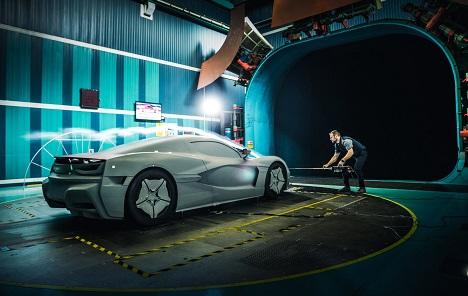Rimac Automobili objavili fotografiju automobila C_Two prije testiranja