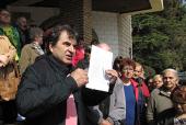 Ristić: Radnicima Koštane JEDNOKRATNA POMOĆ, protest se nastavlja