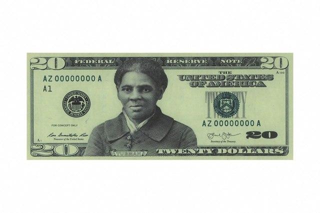 Robinja menja robovlasnika na novčanici od 20 dolara