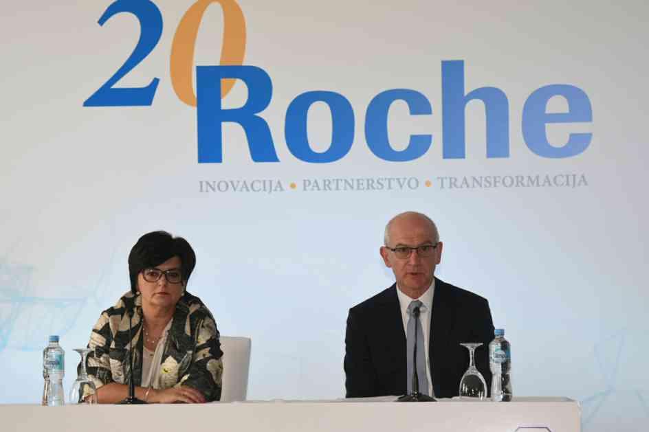 Roche već 20 godina donosi inovativna medicinska riješenja u liječenju pacijenata u BiH