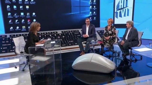 Rudan: Hoće li neko i vas ubiti? Vučić: Valjda neće; Rudan: Jeste li sigurni da nećete tako ući u istoriju?