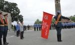 Rusija poklonila Srbiji kopiju Zastave pobede (FOTO)