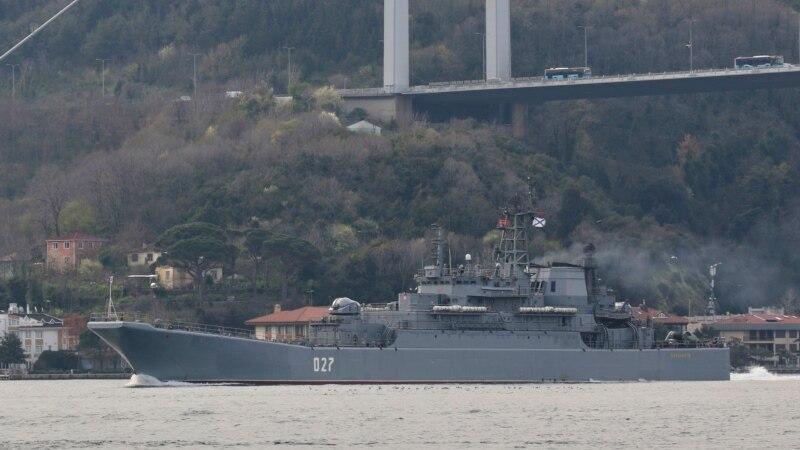 Rusija povećava prisustvo pomorskih snaga u Crnom moru