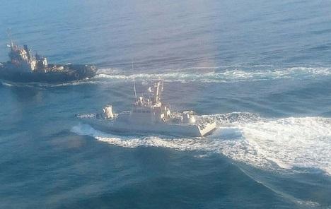 Rusija priznala da je pucala na ukrajinske brodove