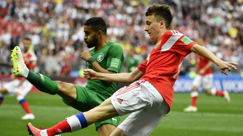 Rusija ubedljiva protiv Saudijske Arabije na početku SP