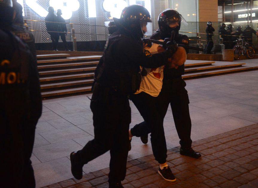 Na protestima podrške Navaljnom uhapšeno više od 3.500 ljudi