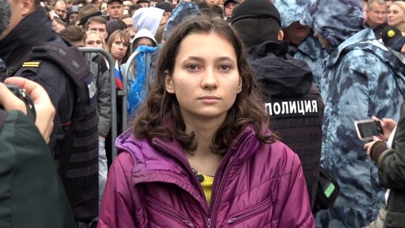 Ruska studentkinja prkosi na sudu i pod pretnjom zatvora