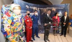 Ruski kosmonauti zatvorili izložbu Srpska i ruska filatelija o kosmosu (VIDEO)