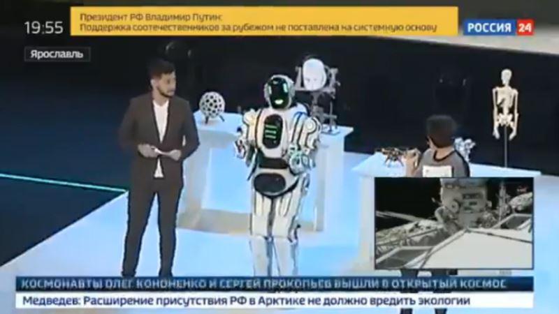 Ruski robot Boris, čovjek ili mašina?