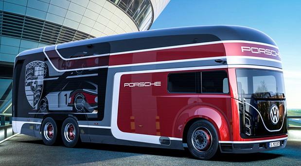 Ruski umetnik predstavio viziju modernog Porsche transportera