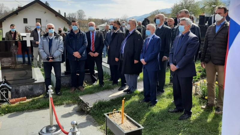 Ruskim dobrovoljcima počasti, žrtvama u Višegradu ni spomen ploča