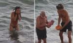 Ruskinja se porodila u moru, pa išetala na plažu (FOTO)