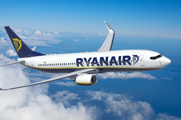 Ryanair uvodi od 31. oktobra novu liniju Niš-Stokholm