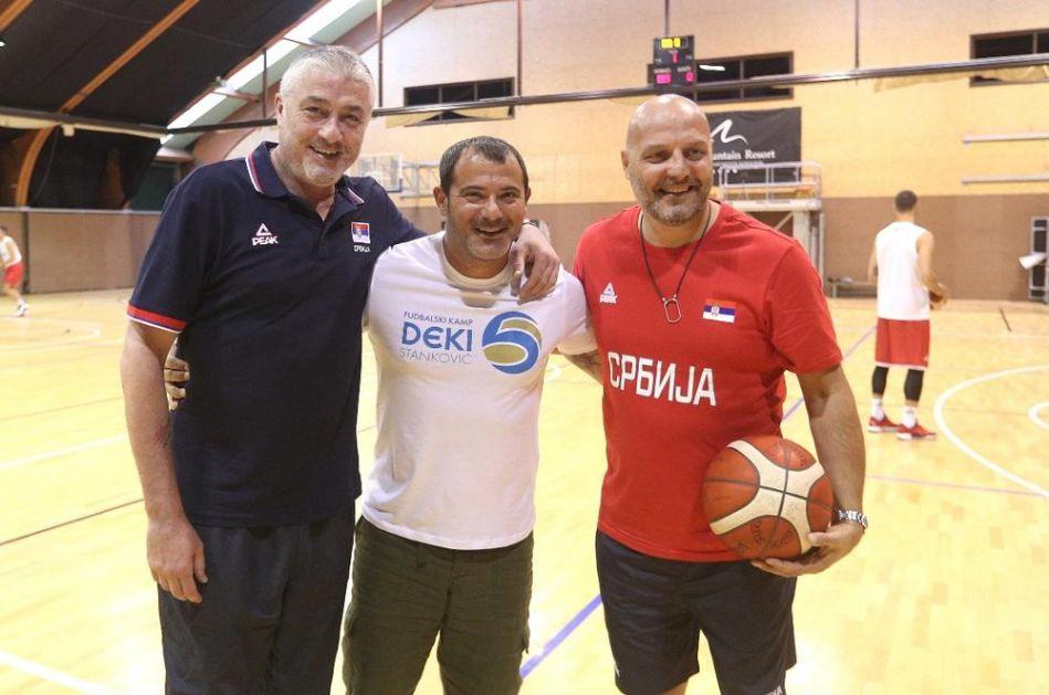 SA KROVA SRBIJE NA KROV SVETA: Deki Stanković poželeo sreću Orlovima na Mundobasketu!