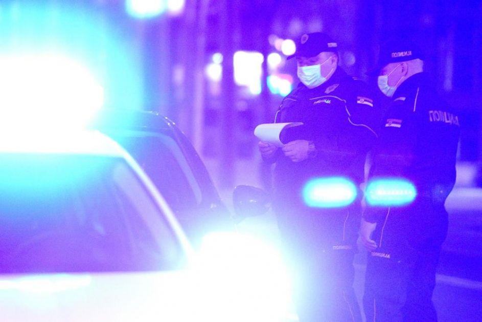 SA SEKIROM UPAO U DVORIŠTE I NAPRAVIO HAOS! Uhapšen muškarac u Negotinu