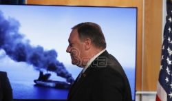 SAD: Iran odgovoran za napade na dva naftna tankera blizu Persijskog zaliva