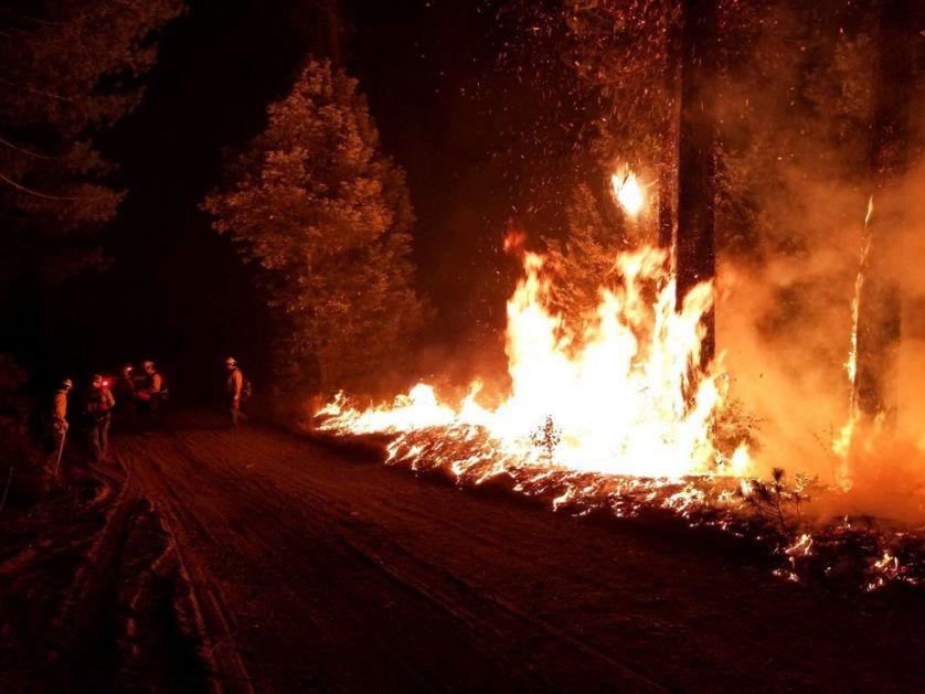 SAD: Uhapšen osumnjičeni za podmetanje požara u Kaliforniji