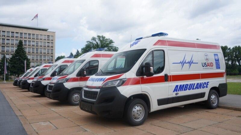 SAD donirale novih šest vozila za zdravstvene ustanove u Srbiji