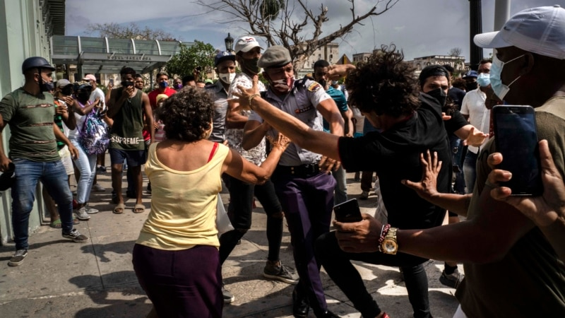 SAD i još 20 država osudile masovna hapšenja na Kubi