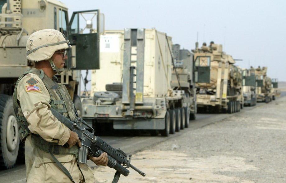 SAD napuštaju bazu na severu Iraka