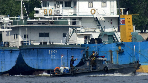 SAD zaplenile severnokorejski teretni brod