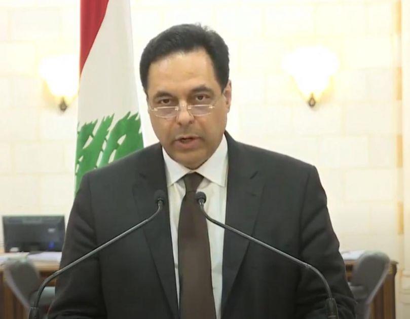 SADA I ZVANIČNO! LIBANSKI PREMIJER DAO OSTAVKU, PALA VLADA: Eksplozija je rezultat endemske korupcije (VIDEO)