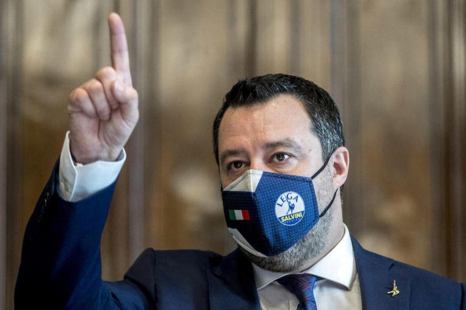 SALVINI: Želimo da budemo deo vlade koja u Brisel ide podignute glave, u ime nacionalnih interesa!