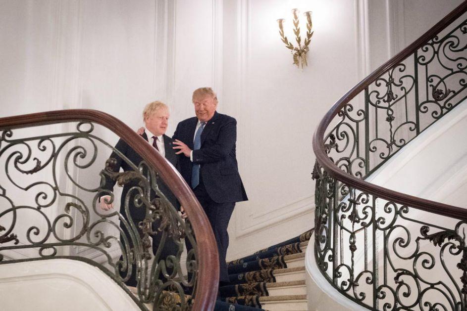 SAMIT G7: TRAMP ODUŠEVLJEN DŽONSONOM! On je pravi čovek da izvede svoju zemlju iz EU